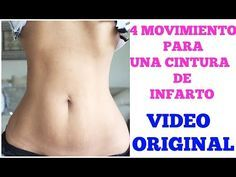 4 MOVIMIENTOS PARA UNA CINTURA DE INFARTO| VIDEO ORIGINAL - YouTube