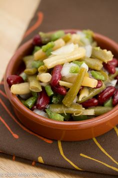 Speedy Big-Batch Meal Prep: Middle Eastern 3-Bean Salad | Belly full ...