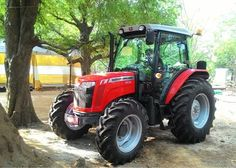 Guaranteed to turn heads wherever it goes, TAFE's #MF 2635 #tractor melds design and technology most sublimely. tafe.com | tafecafe.com