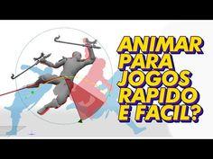 Animação 3D Fácil Para Jogos? Cascadeur vai além da animação baseada em física - YouTube 3d Software, Youtube, Games, Youtubers, Youtube Movies