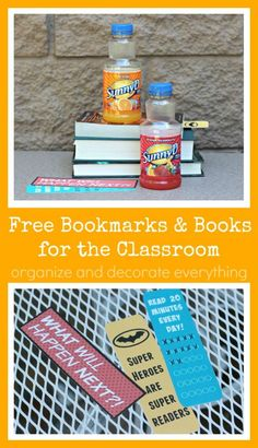 Free printable Bookmarks and Books for the Classroom #keepitsunny #Pmedia #ad