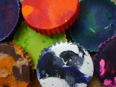this is a great thing to do with left over broken crayons! #diy #crafts #children #kids