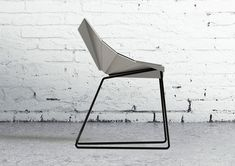 As its name suggests, the Origami Chair translates the folding paper language to a sharp, geometric, metal seating solution. Through a minimal number of folds, a Furniture Sofa Set, Metal Patio Furniture, Bedroom Furniture Makeover, Art Deco Furniture, Metal Chairs, Furniture Design, Origami Chair, Mirrored Bedroom Furniture, Geometric Quilt