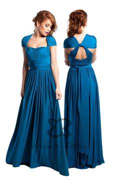 282ff199fc3bc Eliza   Ethan Multi-Wrap Dress Tutorial - Style 13. Infinity Dress StylesInfinity  Dress Ways To WearInfinity ...