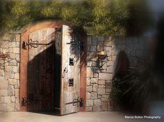 Custom Made Custom Arched Castle Doors
