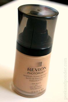 Revlon Photoready Foundation - this is the best drugstore foundation I've found!