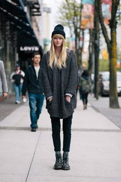 cool robson street street style photo form aniabnet fashion blog