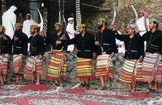 Flower Men of Wadi Tihama, Saudi Arabia - Travel Photos by Galen R Frysinger, Sheboygan, Wisconsin