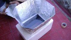 Cocina solar casera. http://labioguia.com/labioguia/cocina-solar-casera/