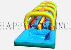 Slip and Slide - Double Lane w Pool