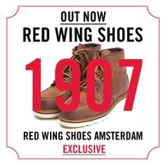 1907 @ Red Wing Store Amsterdam! http://www.redwingamsterdam.com/red-wing-shoes-1907-6-classic-moc-copper-rough-and-tough #redwing #redwing1907 #shoes #boots