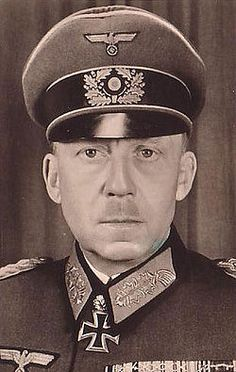 Gotthard Heinrici, considered by some the best defensive general in the entire German Army in World War II. He was one of the few generals to defy Hitler; he protected his men and rarely failed to halt the Russian advance despite the odds. Outnumbered more than 20 to 1 outside Berlin, he managed to hold off the Russians for almost a week while inflicting enormous casualties. When the battle seemed lost, he sent his men home rather than let them die fighting.