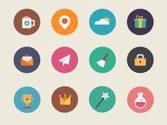 Flat Icons by sumit chakraborty