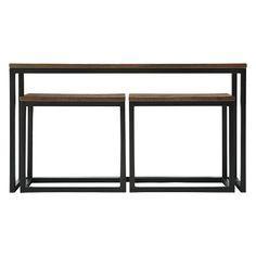 Palmer Nesting Console Table Set | Arhaus Furniture