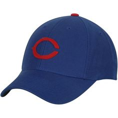 23d8dc19249cd Men s Chicago Cubs American Needle Royal Cooperstown Historic Fitted Hat
