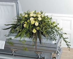 Casket Sprays for Women | casket spray perfect for both a man or a woman our green fields casket ...