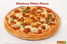 Have a delightful Saturday with Smokin' Joe's mouth watering Chicken Tikka Pizza! #mumbai #pune #chicken #pizza