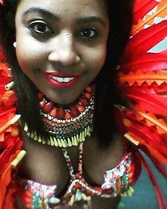 #tribe #carnival #trinicarnival #costume #guyana #fashionshow #feathers #venusflytrap #tribecarnival #2016 by imarahradix