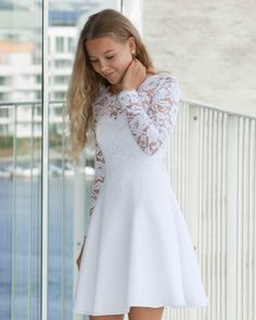 Konfi 2019 Source by malinajetter dresses Grad Dresses, Flower Dresses, Homecoming Dresses, Cute Dresses, Formal Dresses, White Dresses For Teens, Cotillion Dresses, Party Dresses, Robes De Confirmation