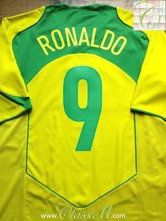 42 Best Classic Brazil Football Shirts images in 2019  7e22737b6