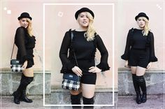 #milano #ootd #ootn #outfit #style #look #fashion #chic #elegant #girly #rock