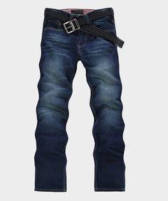Stripe Fashion Long Men Cuaual Jeans Straight Slim Pants XS/S/M/L/XL/XXL/XXXL @S5niu34-1