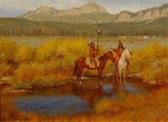 Artwork by Gary Kapp, End of Summer, Made of Oil on board kp