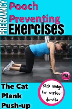 If you don't want to end up with a pooch postpartum, make sure to work your core during pregnancy.  These exercises are safe and effective for preventing the postpartum pooch.  You can do them at home and during any trimester.  http://michellemariefit.publishpath.com/pooch-preventing-pregnancy-exercises