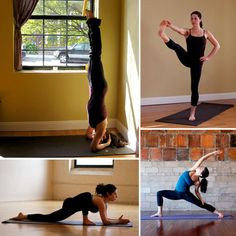 Common poses for yoga! A very helpful guide