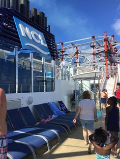 Family cruise travel diary: Sea Days aboard the Norwegian Escape