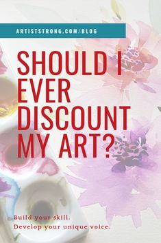 What do you do when someone offers you a commission or opportunity for your art but they only want to pay for your supplies? Craft Business, Creative Business, Business Tips, Artist Bio, Online Tutorials, Selling Art Online, Business Inspiration, Handmade Products, Creative People