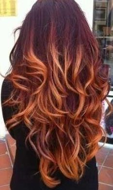 I want to get my hair layered and ombred like this!!