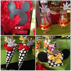 Mickey Mouse party details