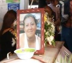 Vela de la víctima en área del Mercado Central.