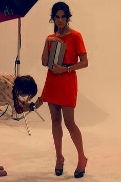 Making Of da nova coleção Ferni com a Clutch e o Peep Toe Azul !