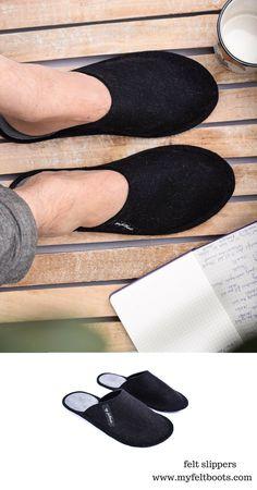 Dr Feet Slippers Natural Wool Felt Mules Schlupfer Slippers 36 41