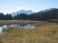 Lake of Lenzerheide (Heidsee) Kanton Graubünden - Foto from 27.9.2014