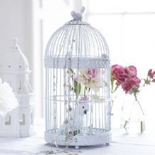 St Lucia white birdcages