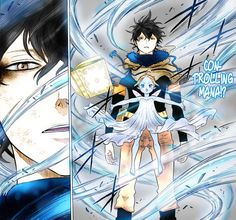 """Black Clover: """"Asta and Yuno were abandoned together at the same church, and have been inseparable since. As children, they promised that they would com. Black Clover - Yuno and Sylph Five Leaf Clover, Clover 3, Black Clover Asta, Black Clover Anime, Tabata, Manga Anime, Anime Art, Otaku, T Art"""