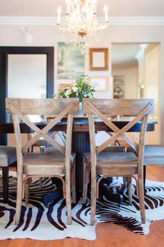 Wooden chairs: http://www.stylemepretty.com/living/2013/04/08/home-tour-from-watson-studios/   Photography: Watson Studios - http://watson-studios.com/