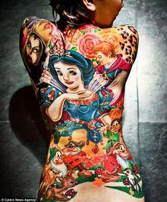 ♥ FANtÁSTICO MUNDO DA PRI ♥: Disney tattoo / Tatuagens Disney
