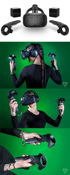 PC and Console VR Headsets: Brand New - Htc Vive Vr Virtual Reality 3D Headset - Retail Consumer Version Cv1 BUY IT NOW ONLY: $850.0