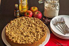 Vollkorn - Apfel - Streusel - Kuchen