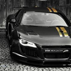 Black and gold PPI Razor R8 WOW thats a beauty!