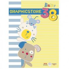 Graphicstore Vol 27 - Baby is a complete selection of graphic ideas with new themes, a host of lovable, funny and romantic characters, a whole range of prints. Baby Shirts, Shirts For Girls, Pattern Images, Young Fashion, Fashion Kids, Kids Prints, Textiles, Cute Characters, Cute Illustration