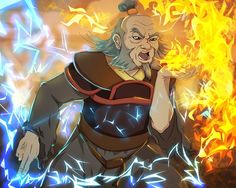 Uncle Iroh -Dragon of the west by ~anmazol One of my favorite characters ever. Power unrivaled coupled with wisdom and restraint. Loyal, honorable, and funny too.