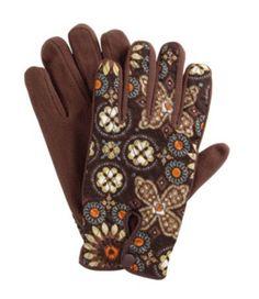 Gloves in Canyon, $32   Vera Bradley