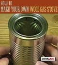 DIY Wood Gas Stove