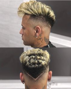 Great looking hair. Creative ideas for fantastic looking hair. Your hair is usually exactly what can easily define you as an individual. To most people today it is usually vital to have a good hair do. Hairstyles Haircuts, Haircuts For Men, Neymar Jr Hairstyle, Hair And Beard Styles, Curly Hair Styles, Boys Haircut Styles, Haircut Designs, Hair 2018, Hair Images