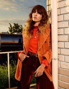 Lou Doillon by Jean-Baptiste Mondino for Elle France August 2015.
